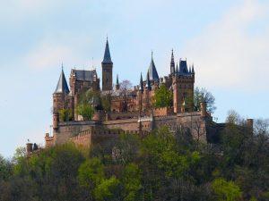 Hohencorlenų pilis, Baden Viutembergas, Vokietija